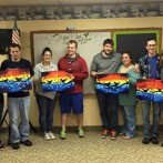 Young Marrieds Group Paint Night