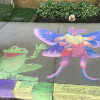 Faith/Art Collective – Chalk Night