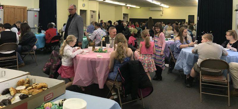 Easter Breakfast – April 2018
