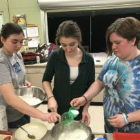 Young Ladies Baking Day – April 2018
