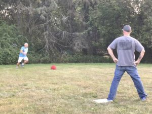 Kickball & Bonfire